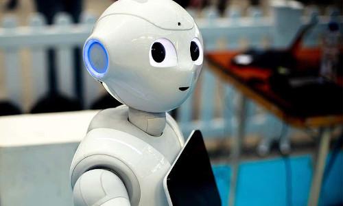 Softbank Robotics' Pepper the robot.